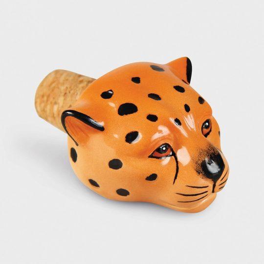 Bottle stopper leopard