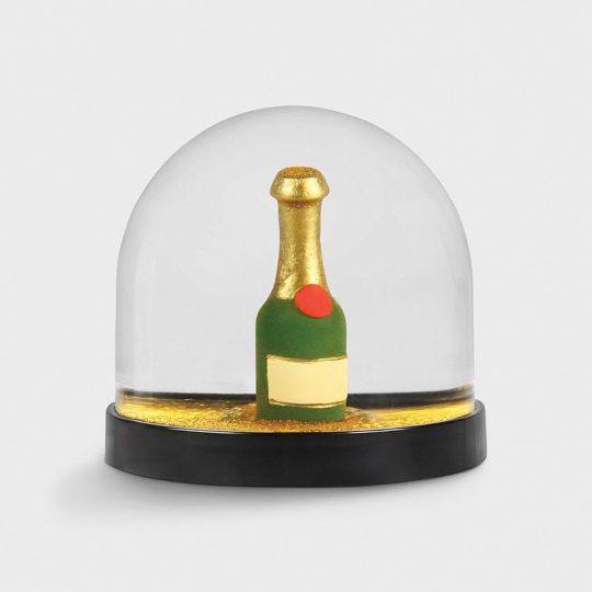 Wonderball champagne bottle
